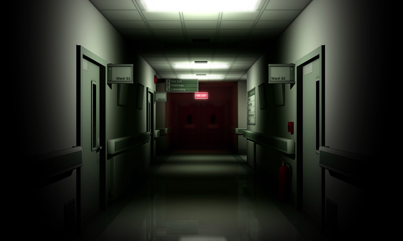 Child Ghost In Hospital Room