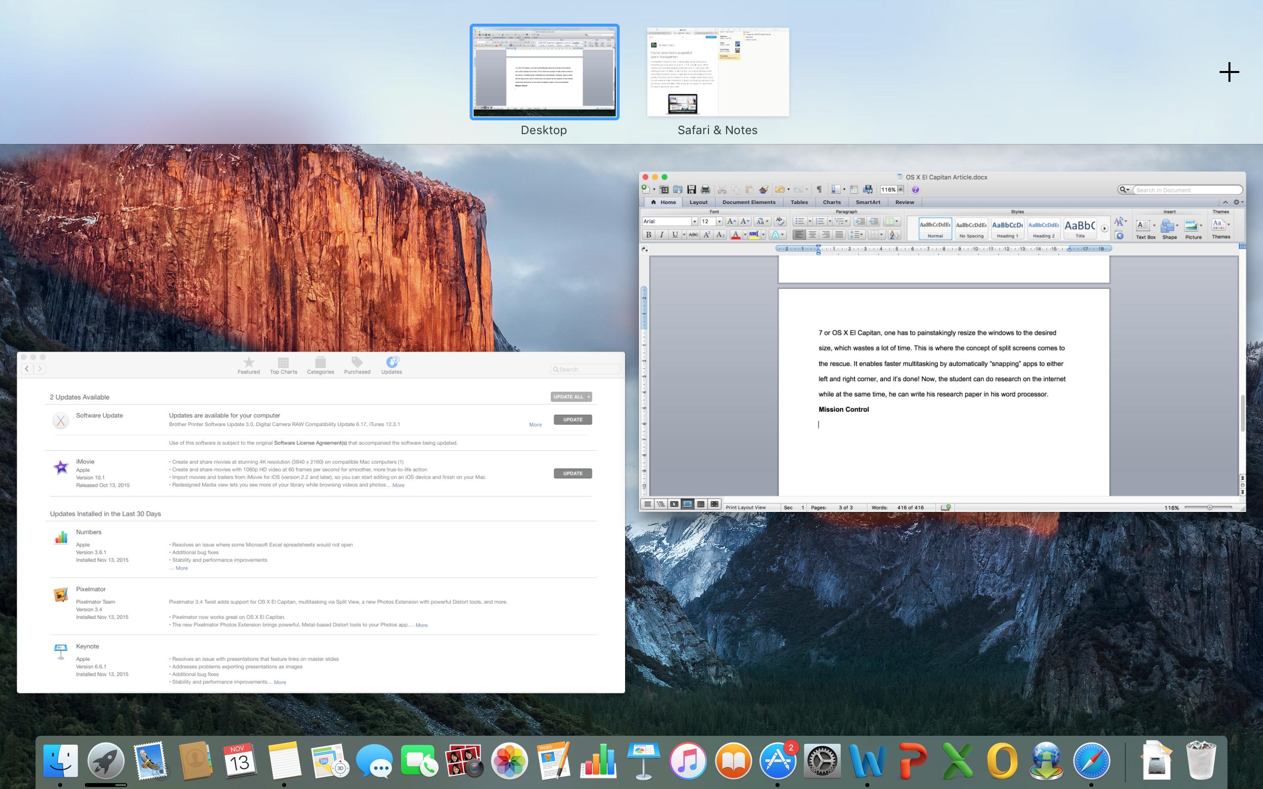 OS X El Capitan: A New Era in Mac OS History Has Arrived