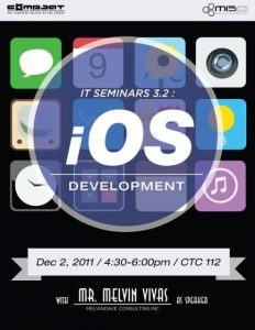 Information Technology Seminar 2011 Promotion Poster