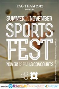 Sportsfest Promotion Poster